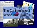 Second World War Conferences