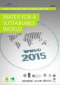 The United Nations World Water Development Report 2015