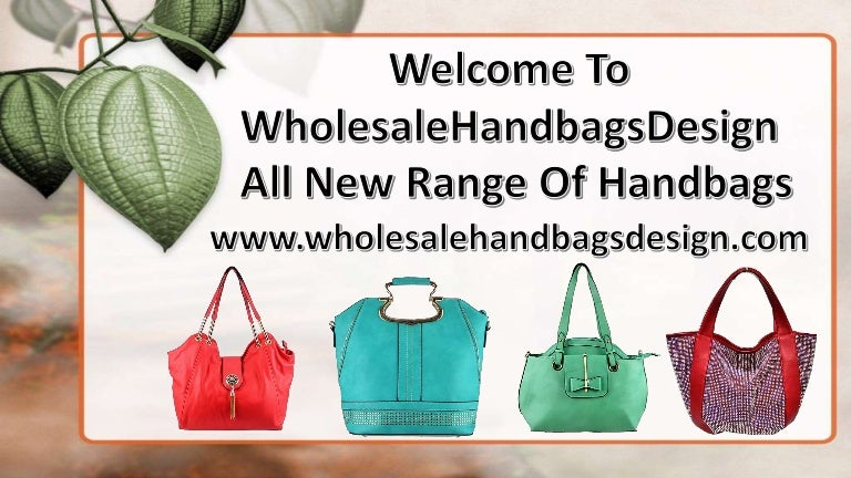 Wholesale Handbags at less 6485531df5