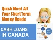Payday Advance Loans Canada - Procedure Bucks With No ...