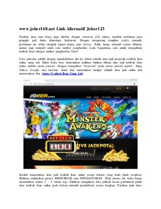 Rartec Bacalah Juga Situs Slot Online Dapat Dipercaya Indonesia