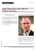 www.batteryfast.co.uk-Apple without Steve Jobs : Who Are Winners and losers?