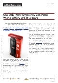 Www.batteryfast.co.uk ces-2012-new-emergency-cell-phone-with-a-battery-life-of-15-years