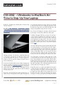 Www.batteryfast.co.uk - CES 2012 – Ultrabooks to MacBook Air: Time to Step Up Your Laptop
