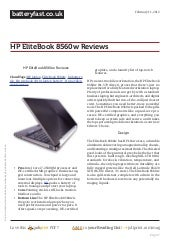 Www.batteryfast.co.uk hp-elitebook-8560w-reviews
