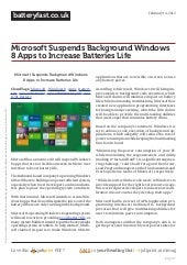 Www.batteryfast.co.uk microsoft-suspends-background-windows-8-apps-to-increase-batteries-life
