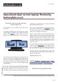 www.batteryfast.co.uk-spacebook dual screen laptop review