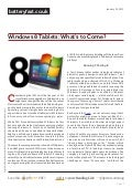 Www.batteryfast.co.uk windows-8-tablets-what-s-to-come-