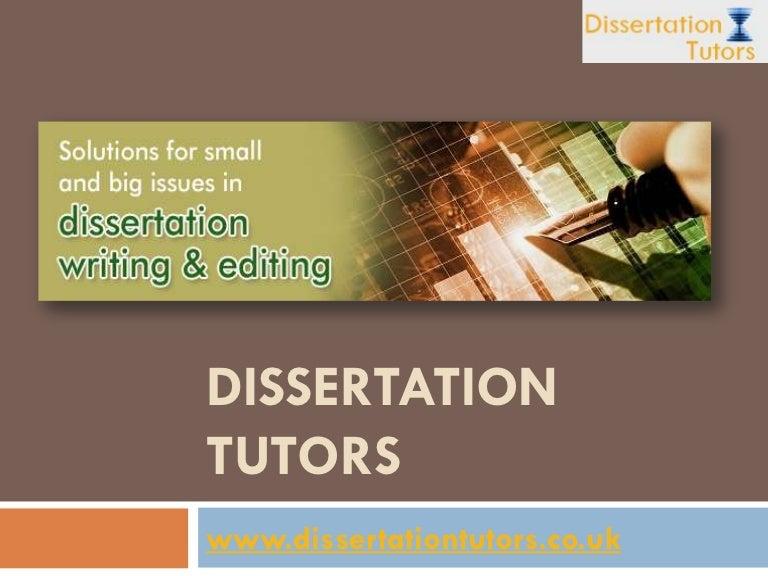 PhD Dissertation Tutors, Dissertation Coach- Dissertation Tutors