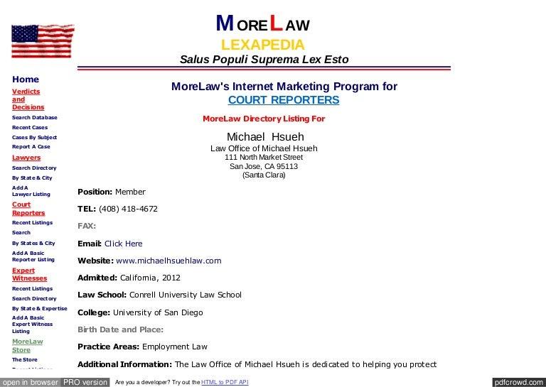Www morelaw com_lawyers_atty_asp_f_michael_l_hsueh_i_107281