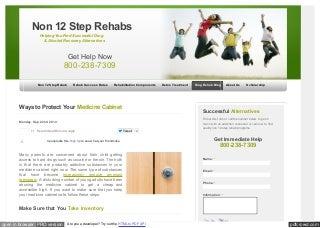 Www non12steprehabs org_blog_2014_protect_your_medicine_cabi