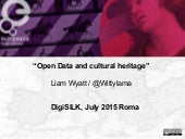 Open Data and cultural heritage