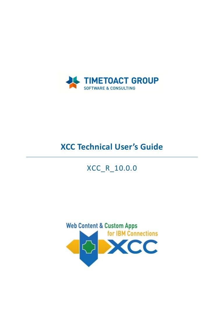 XCC Documentation