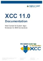 XCC 11.0 - Documentation