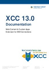 XCC Documentation Release 13.0