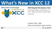 What's New in XCC 12 - Release