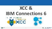 XCC & IBM Connections 6