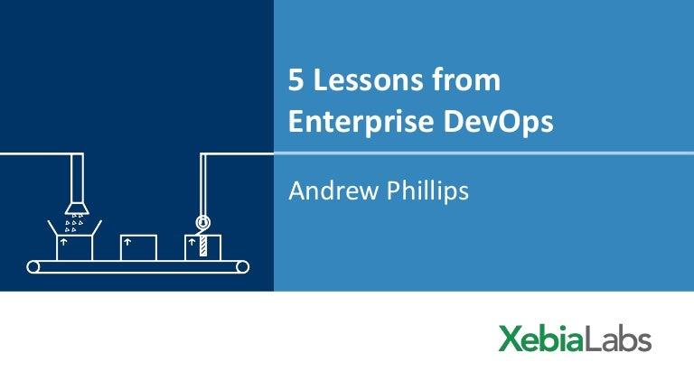 5 lessons from enterprise devops urtaz Gallery