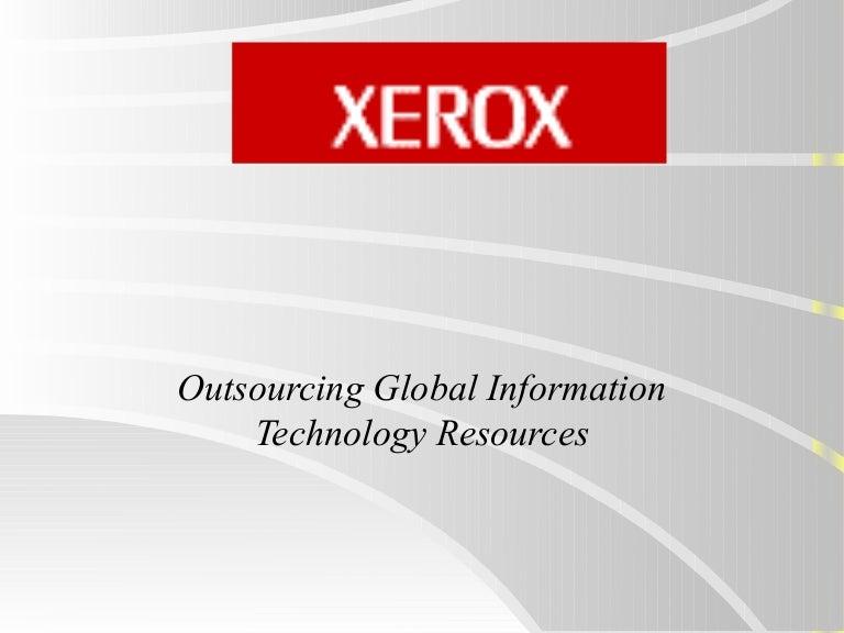xerox case study summary