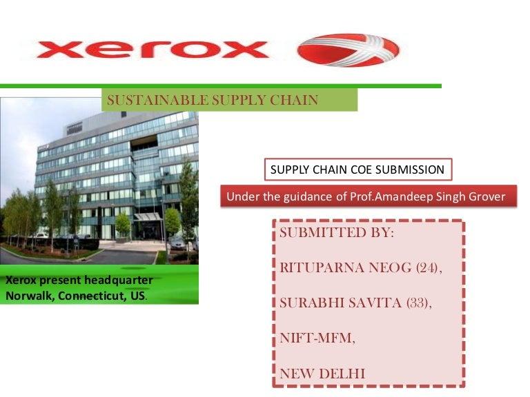 Dunn and Rice Design  Inc    Xerox Fast Company