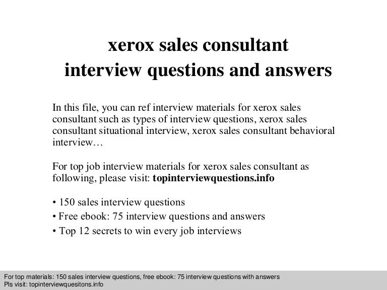 sales position interview questions - Funf.pandroid.co