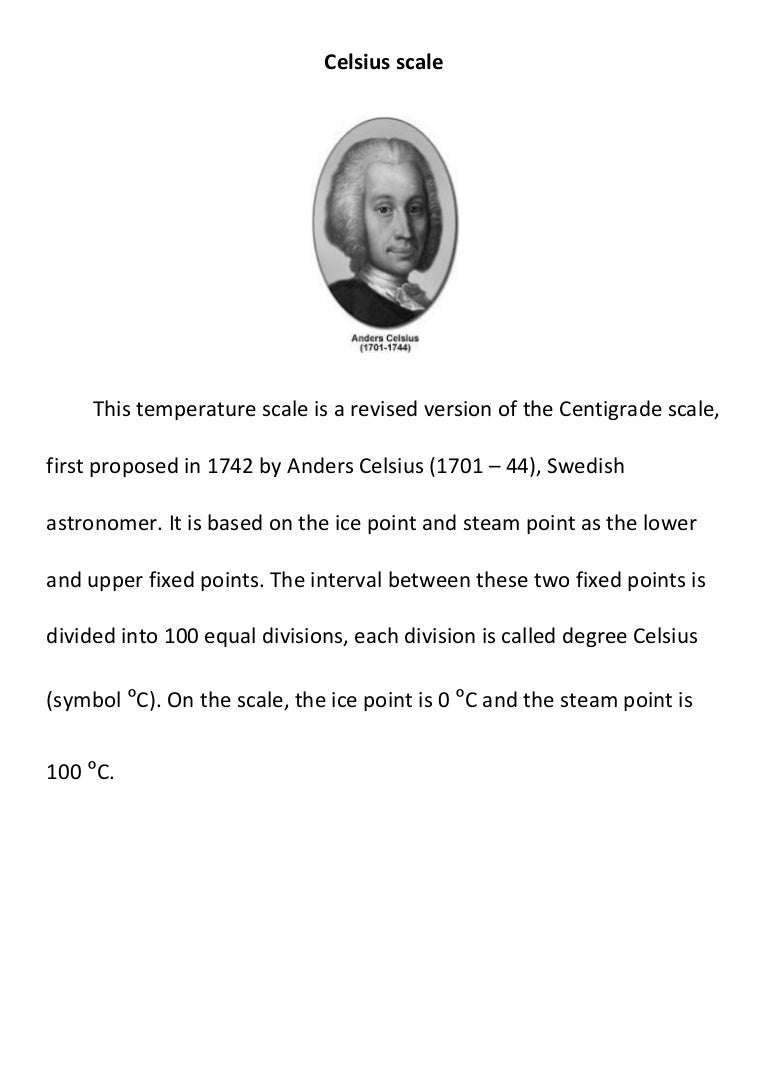 Celsius fahrenheit scale biocorpaavc Choice Image