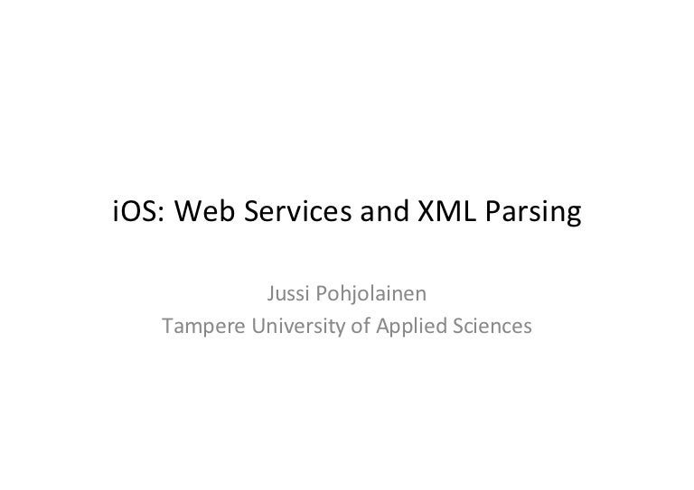 Parsing xml web service in ios with swift a useful guide.