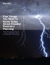 5 Things you need to know about Disaster Recovery