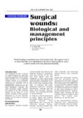 Surgical Wounds Biological and Management Principles - Sanjoy Sanyal