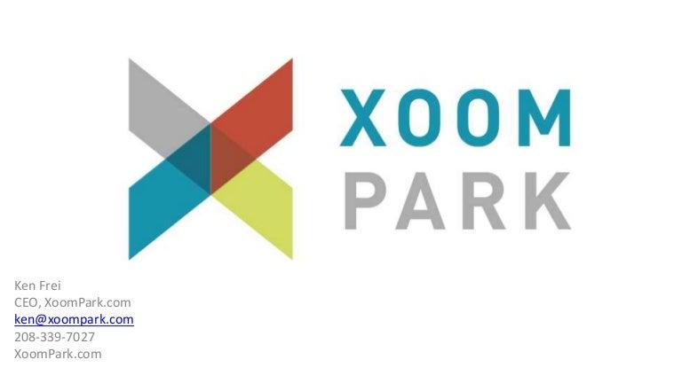 Xoom park investor deck 8 29-12