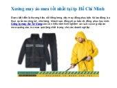 Xưởng may áo mưa quảng cáo tốt nhất tại HCM