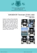 SUNSEEKER Tomahawk 37 MK1, 1989, £35,000 For Sale Brochure. Presented By yachting.vg