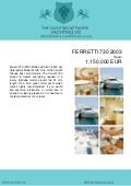 FERRETTI 730, 2003, 1.150.000 € For Sale Brochure. Presented By yachting.vg
