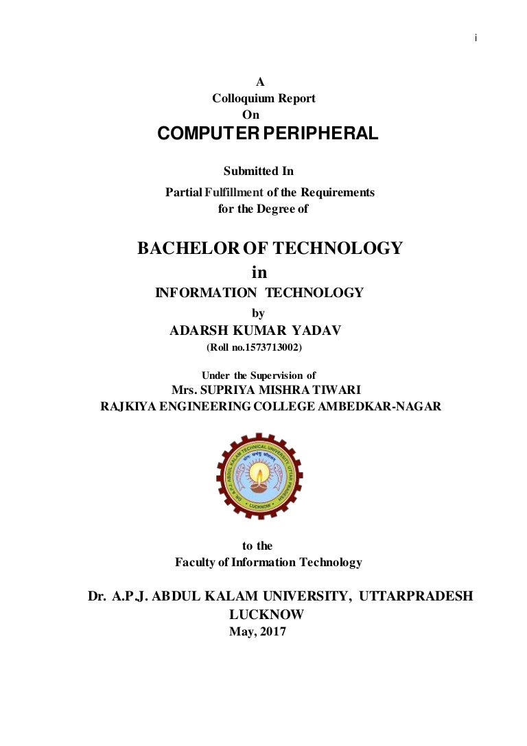 Computer peripheral or Peripheral Devices