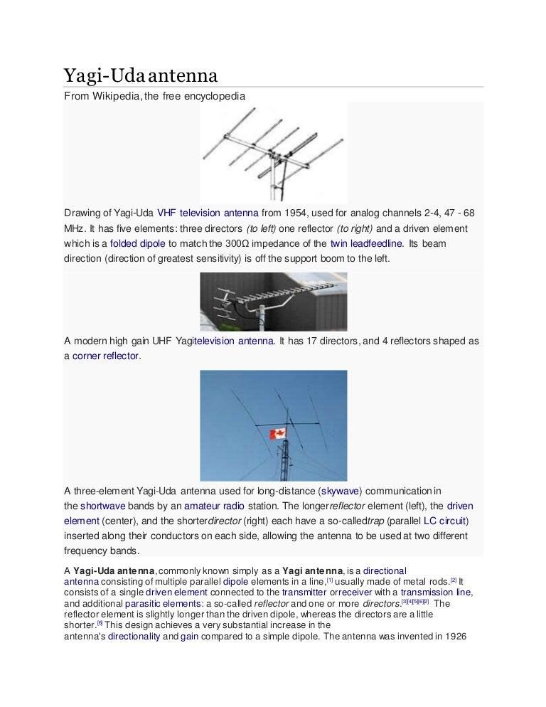 yagi antenna Yagi Antenna Design Software  Antenna Radiation Pattern Yagi Gain Phased Array Antenna Diagram