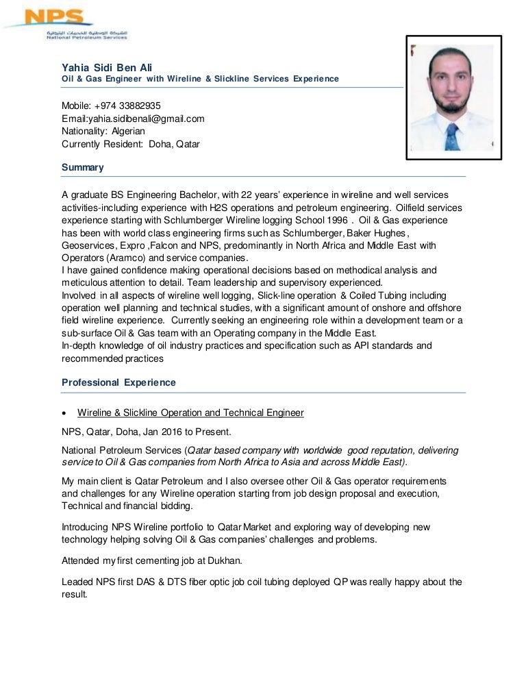 CV Wireline & Slickline Services Expertize
