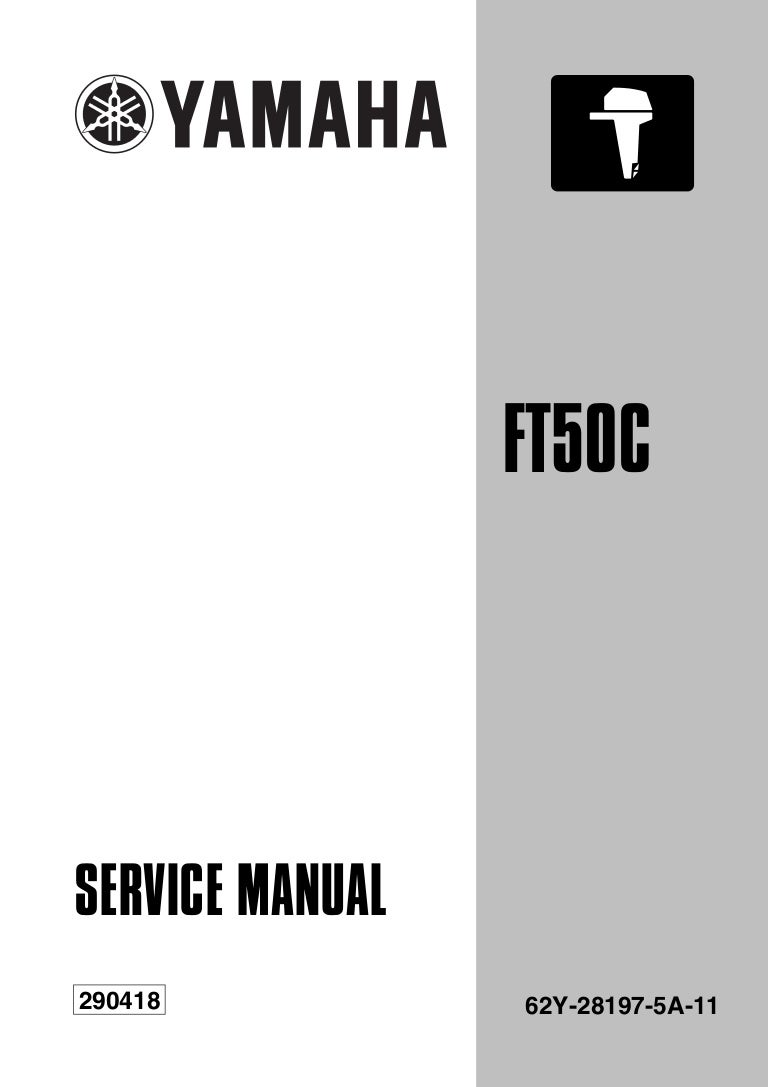 Yamaha Outboard Ft50 Cehd Service Repair Manual L 650101 2 Stroke Carburetor Diagram
