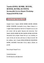 yamaha outboard f115y lf115y complete workshop repair manual