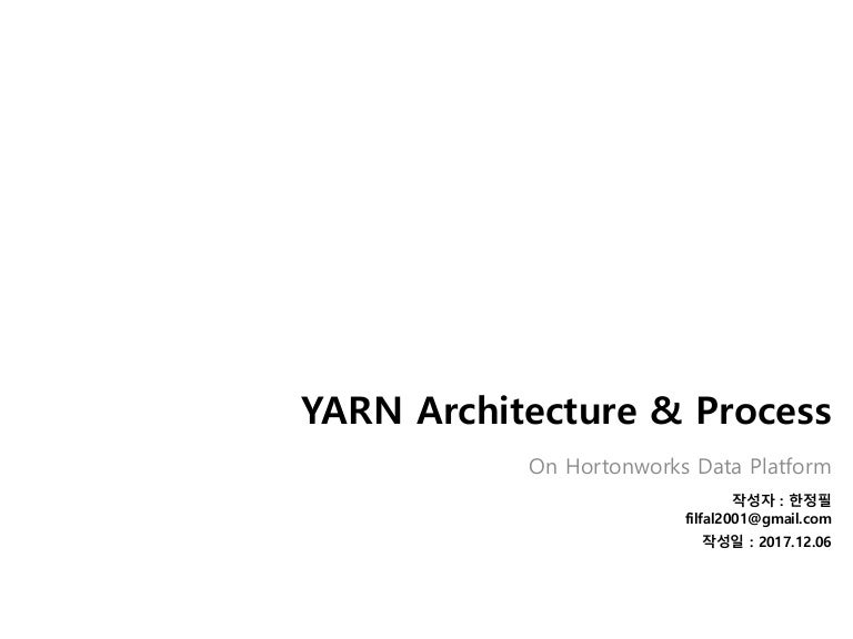 YARN overview