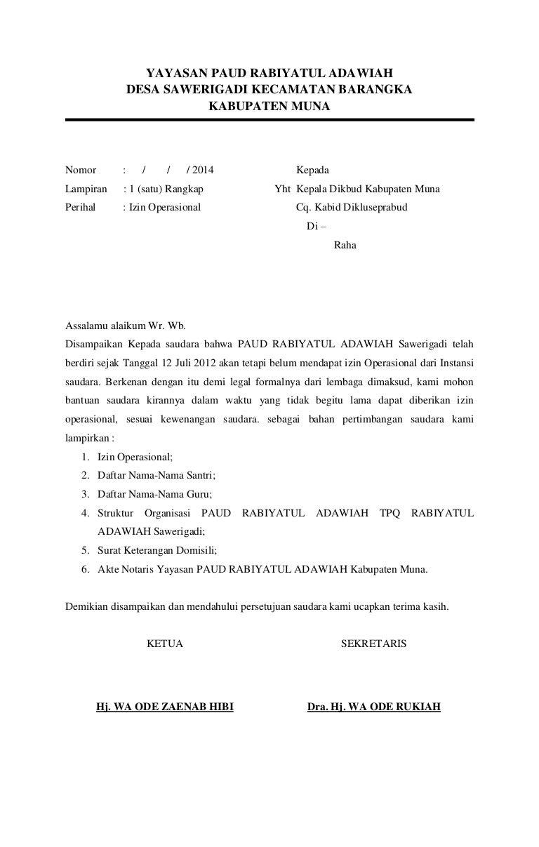 Yayasan Paud Rabiyatul Adawiah
