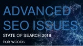 Advanced SEO Issues - Rob Woods