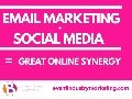 Email Marketing + Social Media = Great Online Synergy