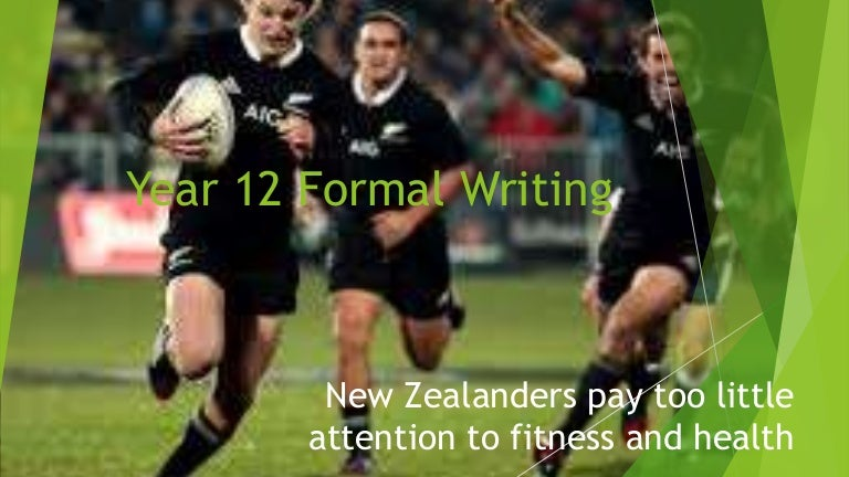 nz and fitness essay examples for year  formal writing
