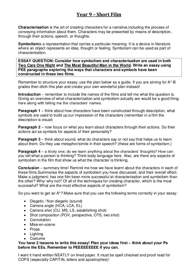 Examples Of Short Essays For Students Idealstalist