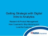 Getting Strategic with Digital: Intro to Analytics