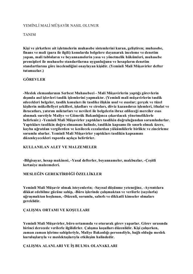 Muhasebecinin işlevsel ve resmi görevleri