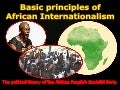 Basic Principles of African Internationalism