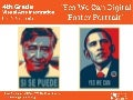 Yes We Can Cesar Chavez and Barack Obama Digital Portrait