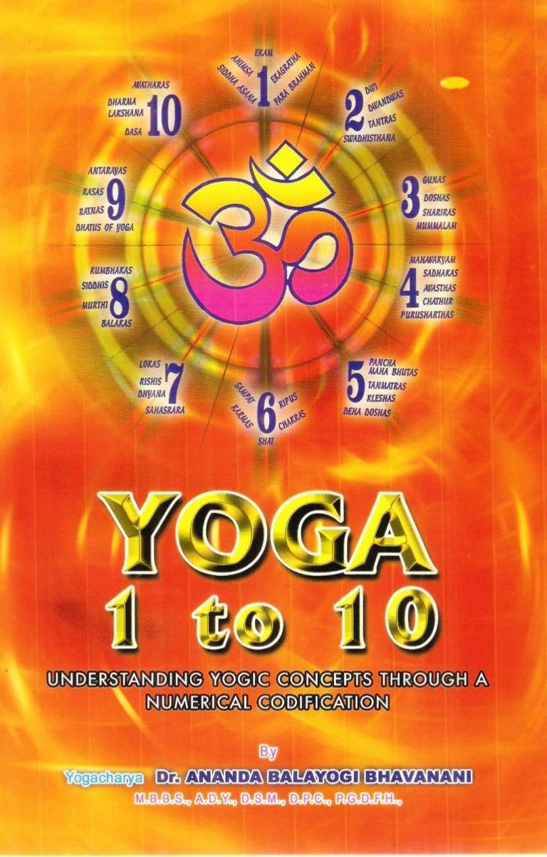 YOGA : 1 TO 10