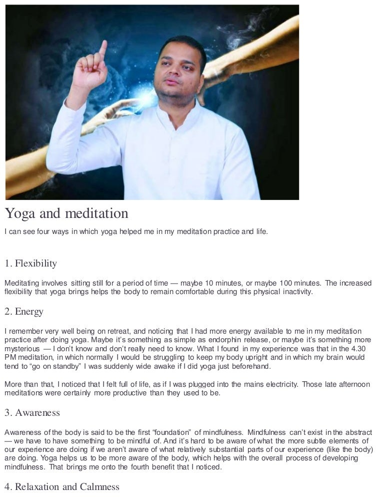 Sadhak Anshit Describes meditation
